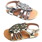 Baby toddler girls sandals shoes gold or silver color size 1 6