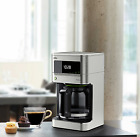 New Kitchen 12 Cup Drip Coffee Pot Maker Stainless Steel Finish Dishwasher-Safe