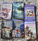 Lot of 6 Cameron Judd Western Paperbacks Books Stories Fiction West No Smoking