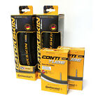 2 Pack Combo Continental Gatorskin 700 x 23 Folding Tires + 2 Tubes