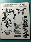 Tim Holtz FAIRYTALE FRENZY Rubber Stamp Cling Mount Set STAMPERS ANONYMOUS
