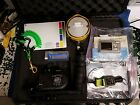 Sealife DC500 Underwater Camera Flash Pelican Case and Accessories EJH 126
