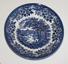 CHURCHiLL CHINA ~ BLUE ENGLISH SCENE ~ BOWL 7-7/8