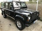 Land Rover Defender 110 CSW galvanised chassis Rover drive
