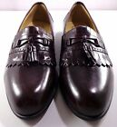 Stacy Adams Comfort Plus Leather Loafers Mens Size 15 M Burgundy Brown Shoes