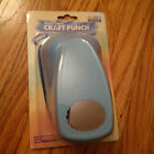 Marvy Uchida Super Clever Lever Craft Punch Scalloped Oval New