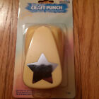Marvy Uchida Extra Jumbo Clever Lever Craft Punch Star New