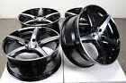 17 5x120 Black Effect Wheels Fits BMW 325 335 Z3 Z4 330 318 3 Series 5 Lug Rims