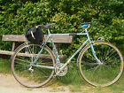 Vintage 1980s Claud Butler 531 fast touring bike 23 58cm Campagnolo Brooks