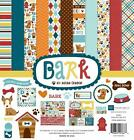 Echo Park Paper BARK 12x12 Collection Kit Dog Puppy Fido Scrapbook Pocket Page