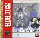 Bandai The Robot Spirits Strike Freedom Gundam  First edition limited joint