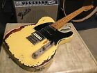 Heavy Relic Fender Modern Player Telecaster Plus Guitar HSS used aged worn