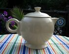 Vintage Fiesta IVORY LARGE Tea pot w Lid