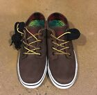 IPath Nomad S Dirt Cow Skull Size 6 US BMX DC Skate Shoes Sneakers Deadstock