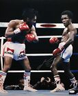 Sugar Ray Leonard Autographed 16x20 Vertical Boxing Photo- JSA W Authenticated