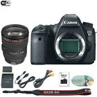 Canon EOS 6D 202 MP DSLR Camera Body w EF L IS USM 24 105mm 4L Lens Kit