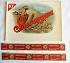 Sheboygan Chief of them all 10 cent cigar Labels Indian Graphics