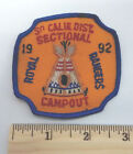 ROYAL RANGERS So Calif Dist Sectional Campout 1992 Vintage Souvenir Patch Teepee