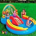 Inflatable Pool Kids Water Swimming Play Outdoor Summer Center Fun Baby New