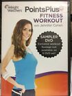 Weight Watchers PointsPlus Fitness Workout DVD Sampler with Jennifer Cohen GREAT