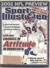 9/2/2002 Sports Illustrated Randy Moss Vikings NFL Preview