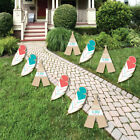 Be Brave Little One Lawn Decor Outdoor Boho Tribal Party Yard Decor 10 ct