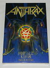 Anthrax For All Kings limited Poker Edition 2 X CD 2016 NEW sealed box set