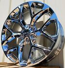 22 GMC Sierra Chrome Yukon Denali Wheels Rims CK156 2014 2015 2016 2017 2018