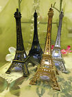 Eiffel Tower Paris Metal Stand Model Table Decor w Extra LED waterproof Light