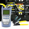 Fiber FTTH Tool Kit with FC-6S Fiber Cleaver and Optical Power Meter 5km GH