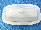 Fiesta White Covered Butter Dish. Original small style.New first Quality.