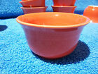 Fiestaware Poppy Bouillon Bowls. New factory seconds. Set of 4.