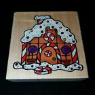 GINGERBREAD HOUSE CHRISTMAS RUBBER STAMP BY SUGARLOAF 2005 HOLIDAYS HOLIDAY