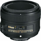 Nikon AF S NIKKOR 50mm f 18G Lens for Nikon DSLR Cameras NEW NEW