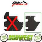 Fab Fours Rear Door Body Armor Skin Protector Fits 2007 17 Jeep Wrangler JK 4DR
