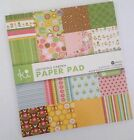 KI Memories 6x6 Paper Pad Cardstock Double Sided Scrapbooking Crafts Card Making
