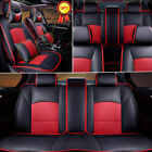 Car Seat Cover For Ford F-150 2010-2018 5-seats Front Rear Pu Leather Cushion