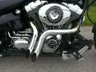 EXHAUST Y DRAG PIPES HARLEY SOFTAIL FXS BLACKLINE FXSB BREAKOUT 2012 2017
