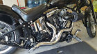 LAF POINTED AMBUSH Step Tuned 2 1 2 Racing EXHAUST Pipes SOFTAILCUSTOMS