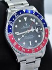 Rolex GMT MASTER PEPSI 16700 BLUE/RED 40mm Steel Oyster Rare *MINT CONDITION*