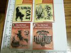 HALLOWEEN WITCHS BREW CAT SPOOKY GHOST GREETING INKADINKADO MINI CLEAR STAMP