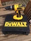 De Walt DC 725 18v Hammer Cordless  Drill With Hard Carry Case And Battery