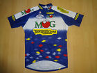 vintage MG TECHNOGYM FAUSTO COPPI NALINI ITALIAN CYCLING JERSEY Made in Italy