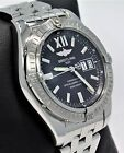 BREITLING Windrider Cockpit 41mm A49350 Automatic Black Dial Men's Watch *MINT*