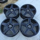 4 NEW 20 OEM MERCEDES BENZ S65 AMG GLOSS BLACK WHEELS RIMS CL63 S550 S63 CL550
