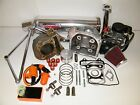 100cc Big Bore Kit Performance Power Pack Aluminum Exhaust Chinese Scooter Parts