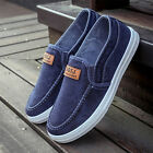 Fashion Mens Sneakers Casual Slip On Low Top Shoes Canvas Denim Shoes Loafers