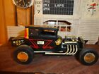 AMT Early Model T Ford Chopped Coupe Hot Rod 3in1 Rare 1/25 Built Model Diorama