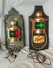 2 vintage strohs beer lighted nautical signs welcome aboard beer lovers