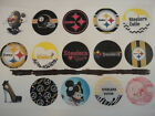 Steelers mix flat back or pin badge cabochons embellishment bow centers magnets